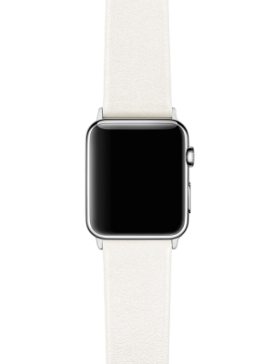 Happy Straps | 1x1 collection Milk - Apple Watch Leather Strap