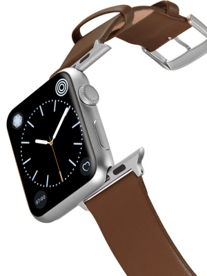 Happy Straps | 1x1 collection Woody - Apple Watch Leather Strap