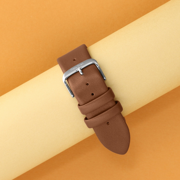 Happy Straps   1x1 collection Woody - Apple Watch Leather Strap