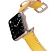 Happy Straps | Aquarium Collection Gelb Pink - Apple Watch Leather Strap