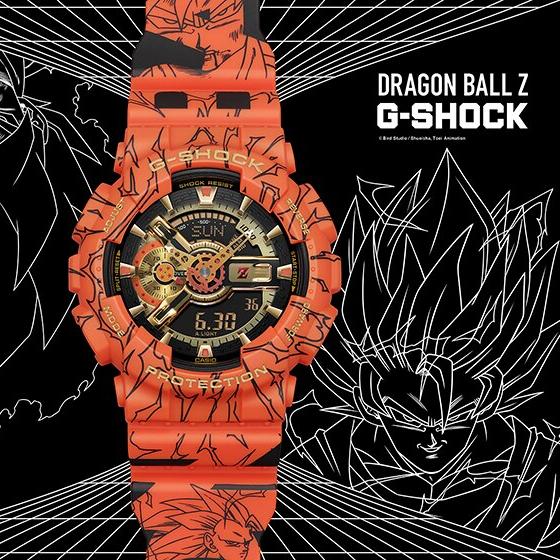【GMT News】下~咩~下~咩~下~~~~ G-Shock x 龍珠 - G-SHOCK DRAGON BALL GA110 SON GOKU