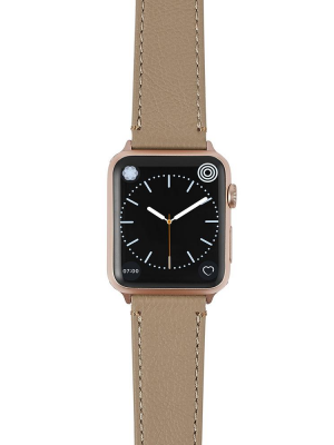Happy Straps   Soil Collection Bisque - Apple Watch Leather Strap