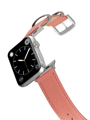 Happy Straps   Soil Collection Cerise - Apple Watch Leather Strap