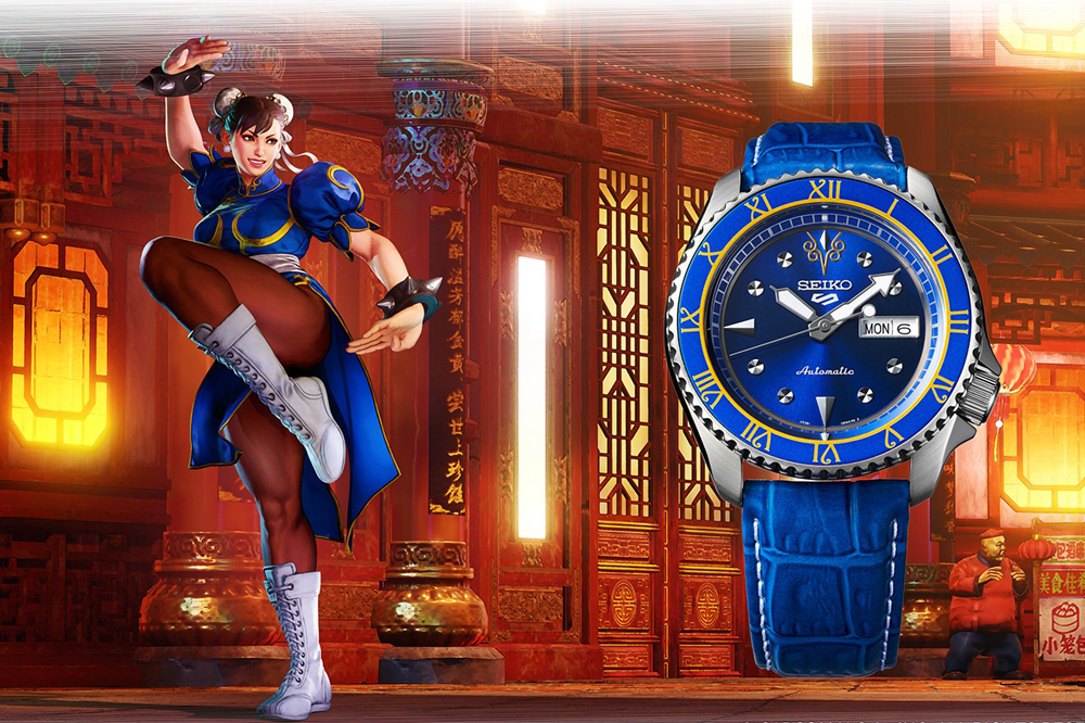 【GMT News】雙5聯乘﹗中二病爆發﹗Seiko 5 x Street Fighter 5